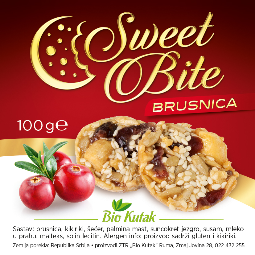 Sweet Bite - brusnica